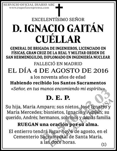 Ignacio Gaitán Cuéllar